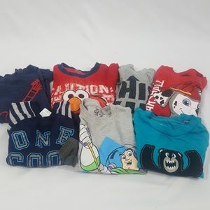 Bundle of Seven Boys Tops Size 2T